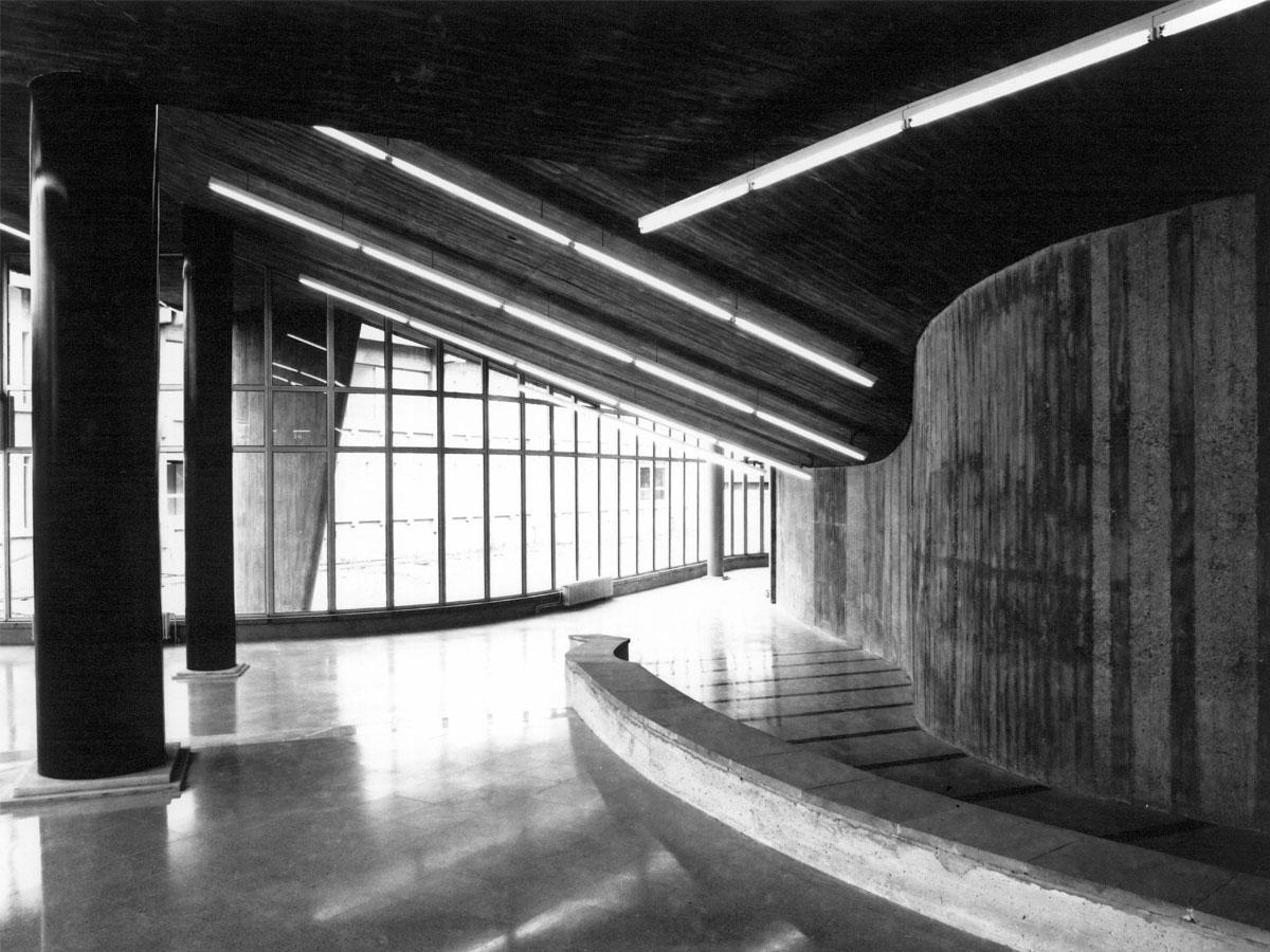 Biblioteca de lletres. Arquitectura i diseny de biblioteques