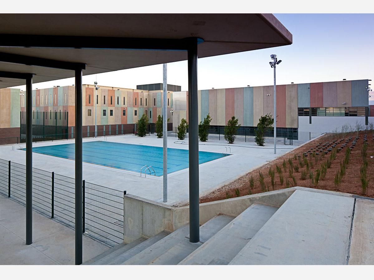 Centre penitenciari Figueres. Diseny de presons i centres penitenciaris