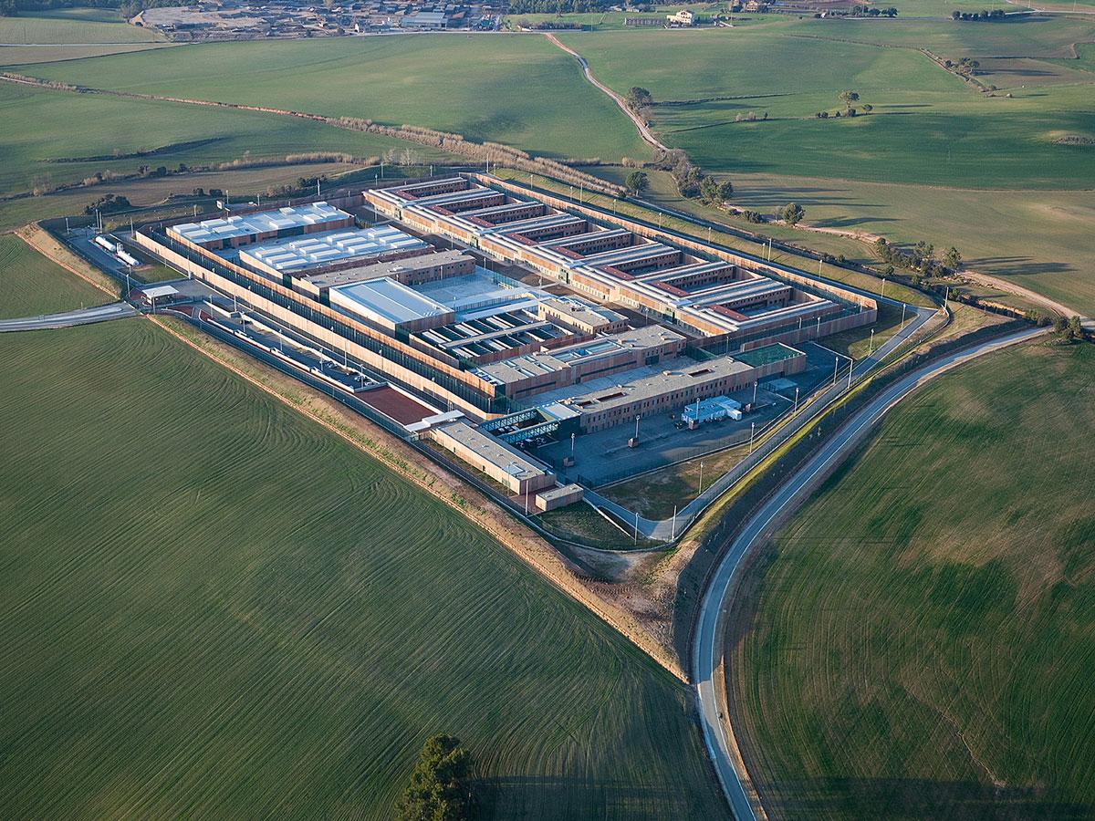 Centro penitenciario Lledoners. Diseño y desarrollo de arquitectura penitenciaria