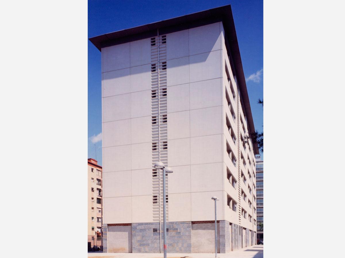 Diseño de edificios de viviendas plurifamiliares de protección oficial